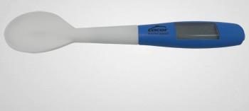 Cuillère silicone avec thermomètre sonde