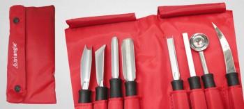Trousse couteaux de sculpture Triangle