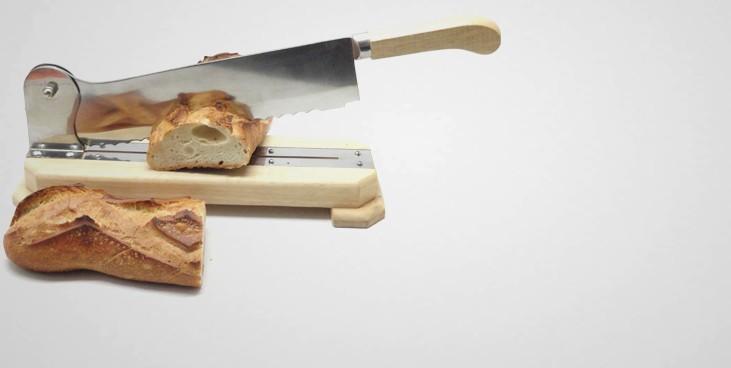 Coupe pain sur socle professionnel 35 cm