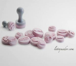 Emporte pièces tampon mini empreintes
