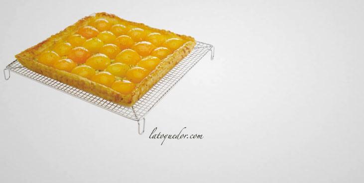 Volette à pâtisserie carrée inox 26x26 cm