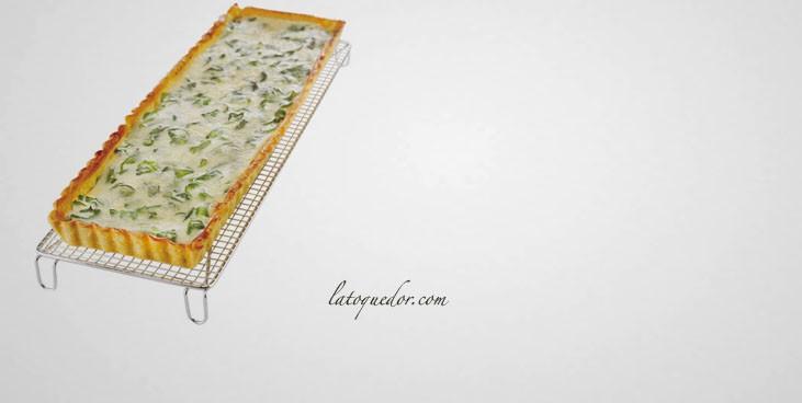 Volette à pâtisserie rectangle inox 36x12 cm