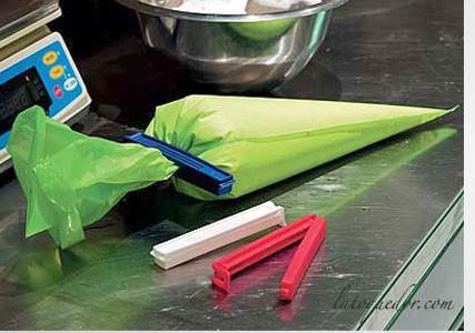 Clip bag pour poche à douilles (x3)