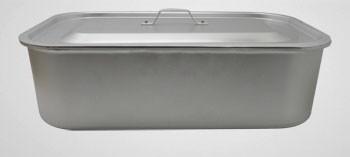 Daubière aluminium avec couvercle