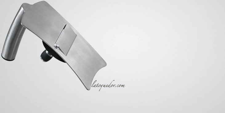 Mandoline à truffe inox ergonomique
