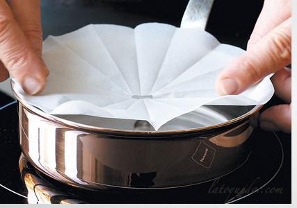 Papier cuisson siliconé professionnel GN1/1