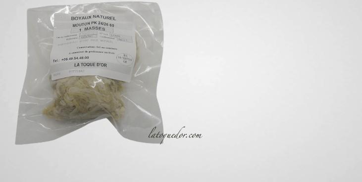 Boyaux de mouton sec qualité AB (60 m)