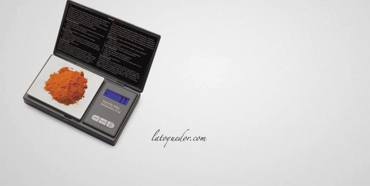 Mini balance de précision 650 g / 0,1 g